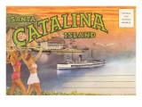 Postcard Folder, Santa Catalina Island Prints