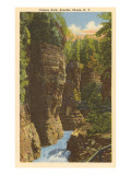 Column Rock, Ausable Chasm, New York Posters