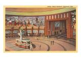 Lobby, Union Terminal Cincinnati, Ohio Poster