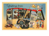 Greetings from Nevada Prints