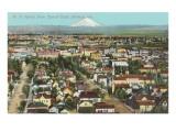 Mt. St. Helens over Portland, Oregon Prints