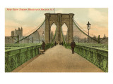 Le pont de Brooklyn, New York City Posters
