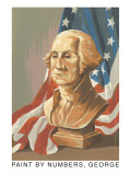 Paint by Numbers, George Washington Poster