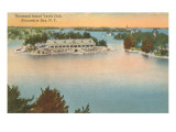 Yacht Club, Thousand Islands, New York Posters