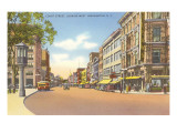 Court Street, Binghamton, New York Print