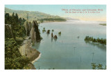 Pillars of Hercules, Columbia River, Oregon Posters