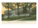 Williams Hall, Lehigh University, South Bethlehem, Pennsylvania Premium giclée print