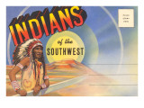 Postcard Folder, Indians of the Southwest Prints
