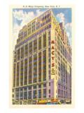 Macy's Building, New York City Print