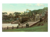 Terraces, Central Park, New York Print