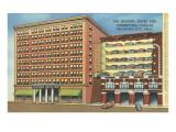 Huckins Hotel, Oklahoma City, Oklahoma Poster