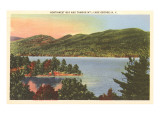 Northwest Bay, Lake George, New York Prints
