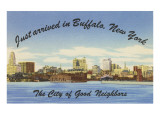 Skyline of Buffalo, New York Posters