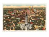 Skyline von Tulsa, Oklahoma Poster