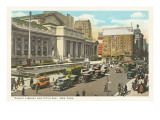 Public Library, New York City Print