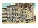 Hills, McLean & Haskins Store, Binghamton, New York Poster