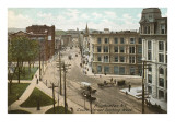 Court Street, Binghamton, New York Prints