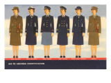 Women in Uniform Print