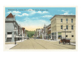 Willamette Street, Eugene, Oregon Print