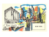 Hotel Statler, New York City Print