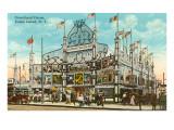 Dreamland Circus, Coney Island, New York City Prints