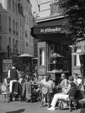 Restaurant/Bistro in the Marais District, Paris, France Fotografie-Druck von Jon Arnold