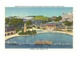 Pool and Park, Hershey, Pennsylvania Posters