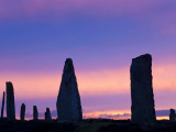 The Ring of Brodgar Standing Stones Orkney Islands Scotland Photographic Print by Peter Adams