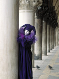 Venice Carnival, Venice, Italy Photographic Print by Peter Adams