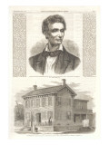 Young Abe Lincoln, Springfield Home Prints