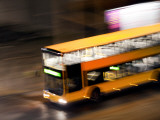 Banana Bus Photographic Print by Felipe Rodriguez