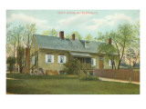 Snity House, Bethlehem, Pennsylvania Posters