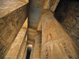 Medinet Habu Temple, Luxor, Egypt Photographic Print by Jon Arnold