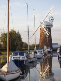 England, East Anglia, Norfolk, Norfolk Broads, Horsey Mill Photographic Print by Steve Vidler