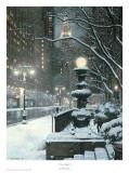 Luces de la ciudad Posters por Rod Chase