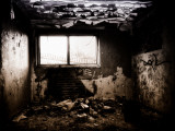 The Inside Room of a Derelict Building Photographic Print by Clive Nolan