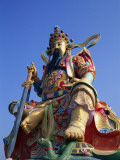 Taiwan, Kaohsiung, Lotus Lake, Statue of Taoist God Xuan-Tian-Shang-Di Photographic Print by Steve Vidler