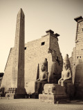 Egypt, Luxor, Luxor Temple Photographic Print by Michele Falzone