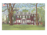 Wheatland, President Buchanan&#39;s Home, Lancaster, Pennsylvania Poster