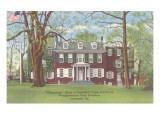 Wheatland, President Buchanan's Home, Lancaster, Pennsylvania Print