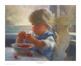 Life is Just a Bowl of Cherries Kunstdrucke von Susan Blackwood