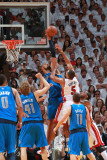 Dallas Mavericks v Miami Heat - Game One, Miami, FL - MAY 31: Juwan Howard and Tyson Chandler Photographic Print by Victor Baldizon