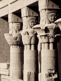 Egypt, Aswan, Philae, Temple of Isis Photographic Print by Michele Falzone