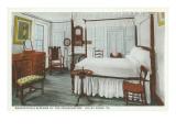 Interior, Washington's Headquarters, Valley Forge, Pennsylvania Prints