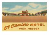 El Camino Motel, Drain, Oregon Posters