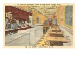 Snockey's Oyster Bar, Philadelphia, Pennsylvania Plakaty