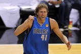Dallas Mavericks v Miami Heat - Game One, Miami, FL - MAY 31: Dirk Nowitzki Photographic Print by Marc Serota