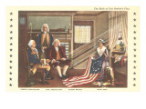 Betsy Ross and Birth of the Flag Posters