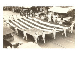 Large Flag in Parade Print