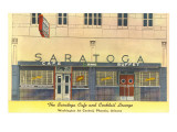Saratoga Cafe and Cocktail Lounge, Retro Prints
